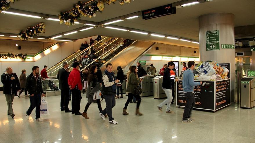 El metro funcionará durante Nochevieja por primera vez desde su entrada en servicio