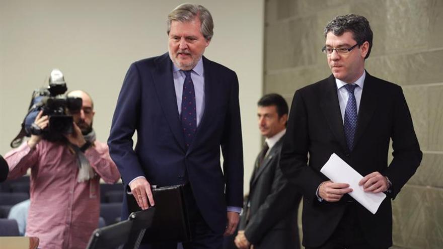 """El Gobierno: """"No habrá referéndum en Cataluña. Más claro no se puede decir"""""""