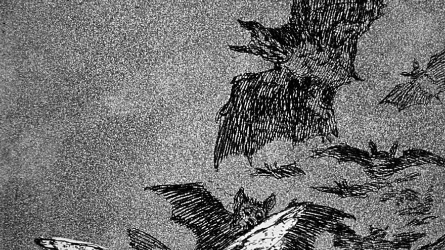 Los Caprichos' de Goya. El sueño de la razón produce monstruos