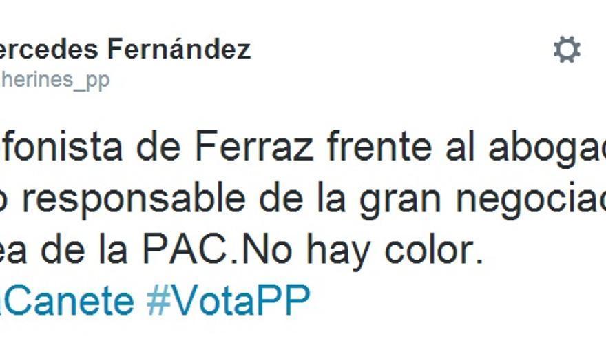 Presidenta del PP asturiano, Mercedes Fernández.