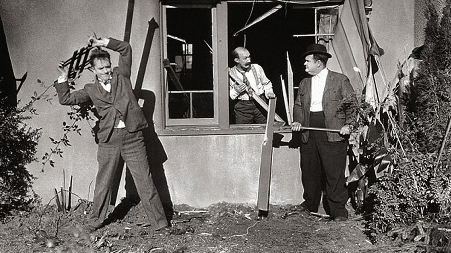 Big Business (J. W. Horne & Leo McCarey, 1929).