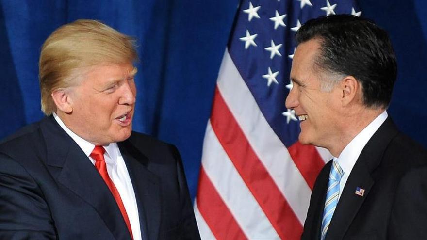 Romney acusa a Trump, sin presentar pruebas, de mentir sobre sus finanzas