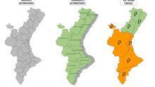Riesgo alto de incendios en las comarcas de València y de Alicante