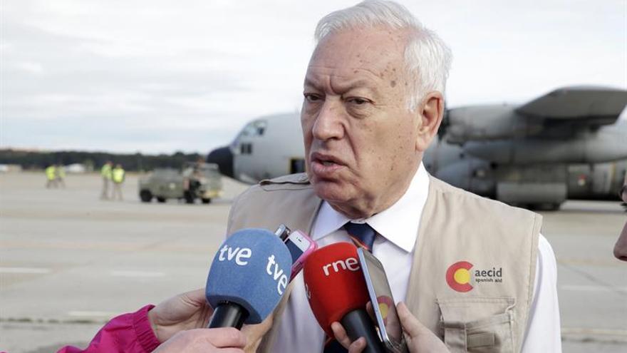 """García-Margallo: """"Vamos a hacer lo que podamos por Osman"""""""