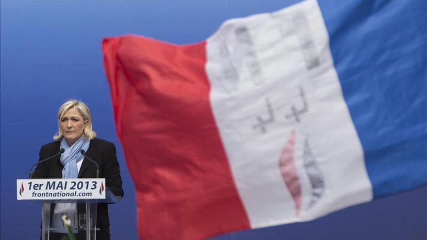 Marine Le Pen es para la mitad de los franceses quien mejor encarna a la oposición