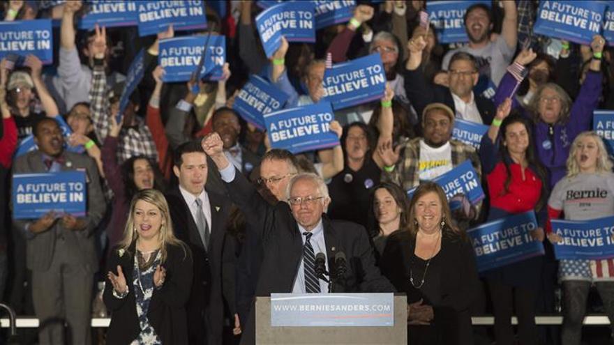 Hemos enviado un mensaje que resonará de Wall Street a Washington, dice Sanders