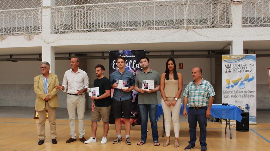 Entrega de premios del 'IV Torneo Internacional de ajedrez Jugando con las estrellas'.