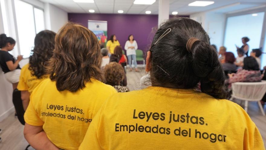 Inauguración del centro de atención a empleadas domésticas, de SEDOAC. / Ayuntamiento de Madrid
