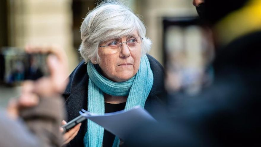 La exconsellera de Enseñanza de la Generalitat Clara Ponsatí.