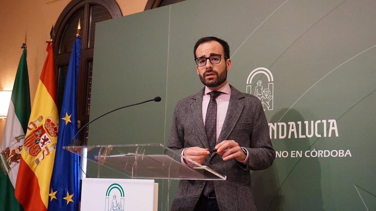 El delegado de Empleo, Formación y Trabajo Autónomo, Ángel Herrador, en una imagen de archivo.