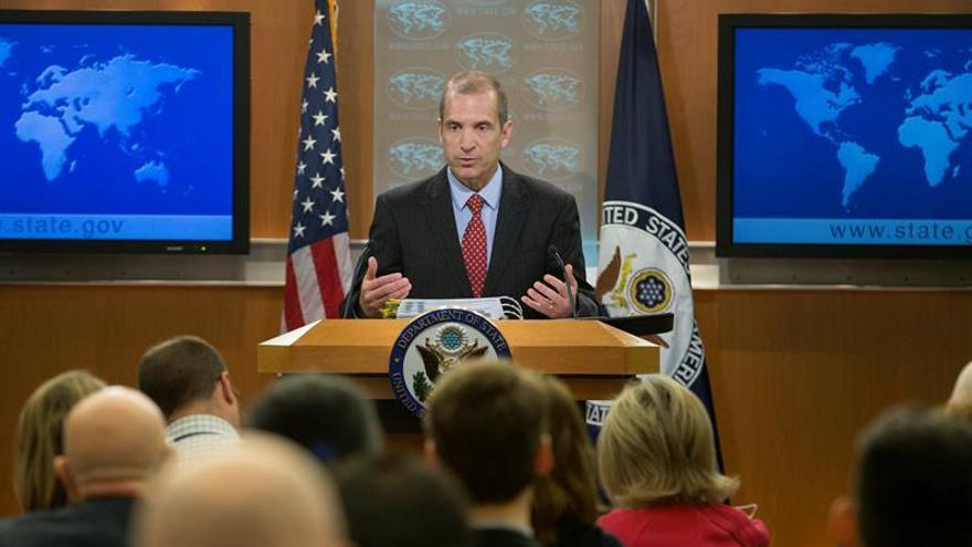 EEUU considera inaceptable el asedio al Parlamento de Venezuela