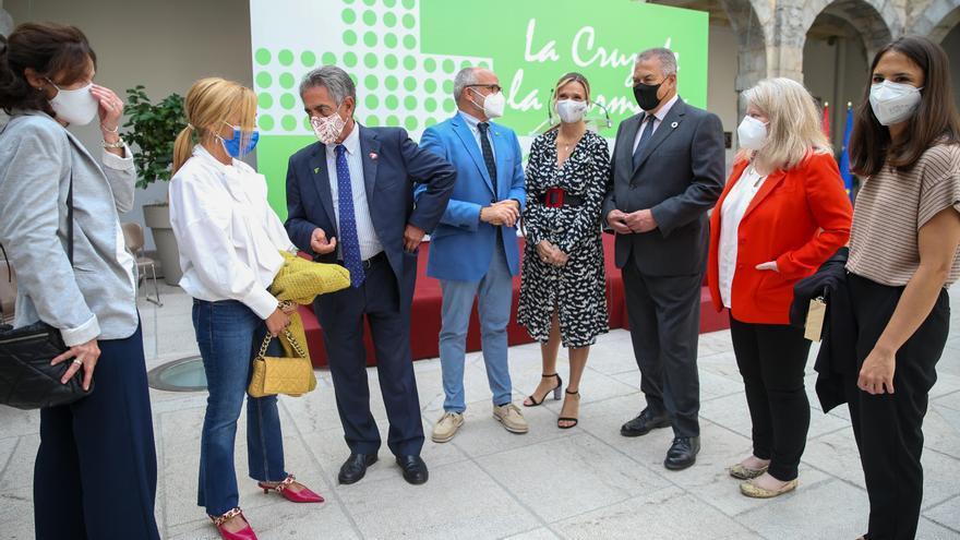 Acto en el Parlamento de Cantabria con motivo del Día Mundial del Farmacéutico