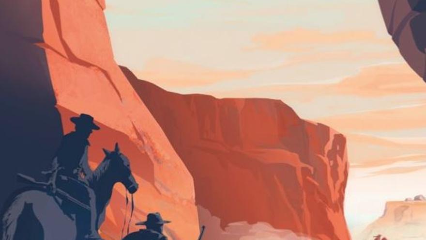 Ilustración de la portada de 'En la costa desaparecida', obra de Eva Vázquez