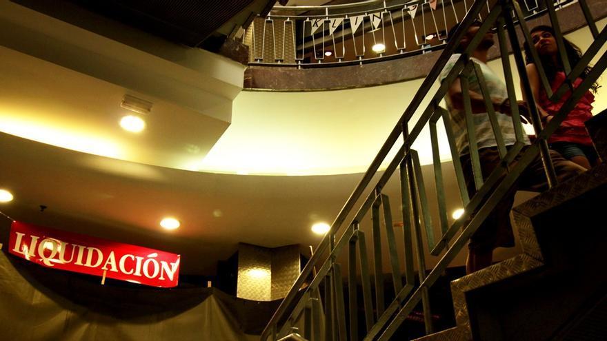 Un tramo de las características escaleras del Mercado de Fuencarral   RAQUEL ANGULO