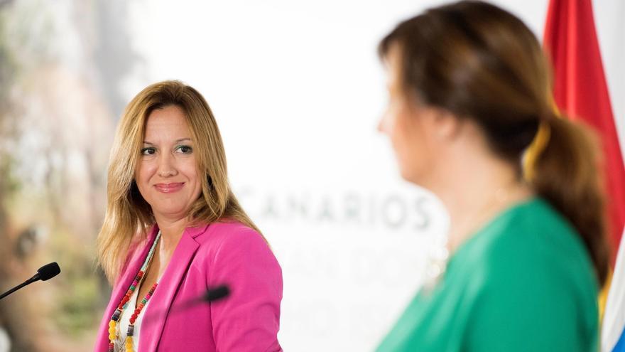 Rosa Dávila, consejera de Hacienda del Gobierno de Canarias.