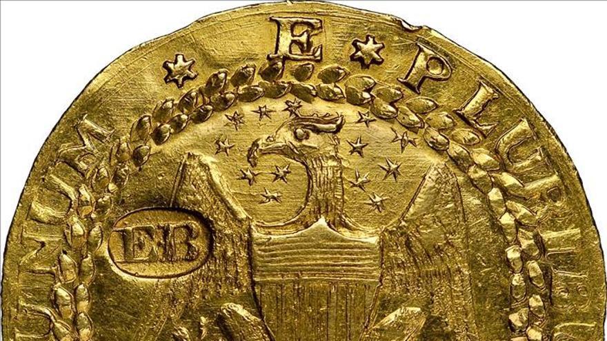 Subastan dos raras monedas, centavo y doblón, valoradas en 9 millones dólares