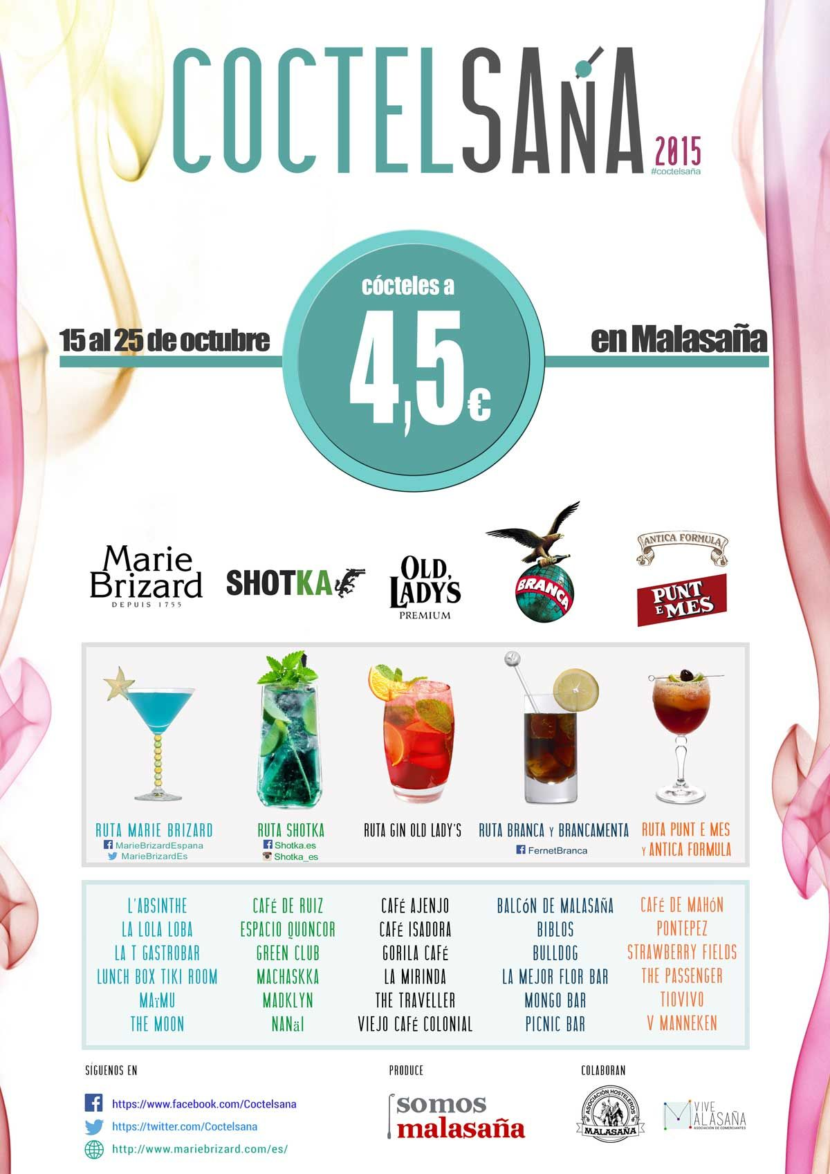 Cartel oficial de Coctelsaña 2015 (pincha para ampliar)
