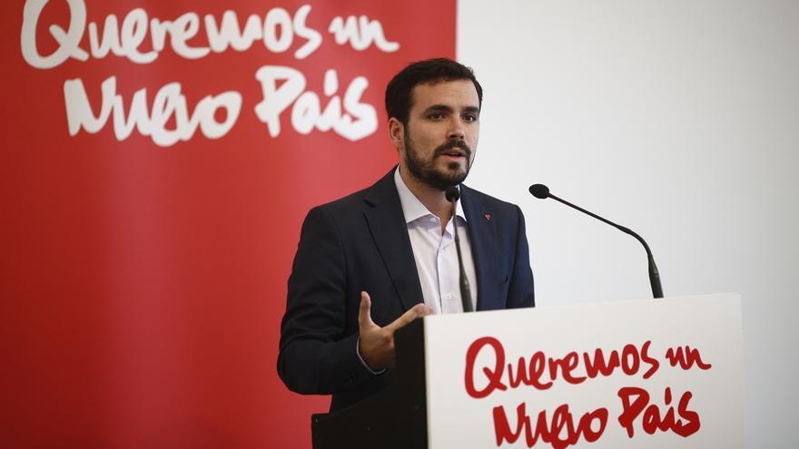 """Garzón ofrece un proyecto """"claramente de izquierdas"""" frente a la política """"espectáculo"""" y """"superficial"""""""