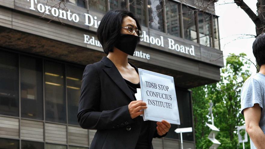 Fotograma de 'En el nombre de Confucio' (Doris Liu)