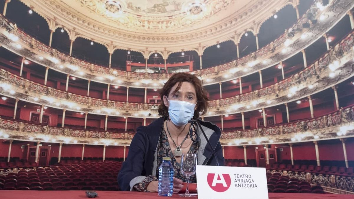 Amaia Arregi, este jueves en Bilbao