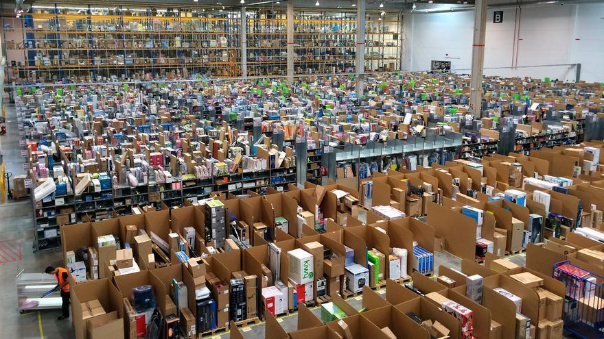 Algunos trabajadores se han quejado de las condiciones laborales de Amazon