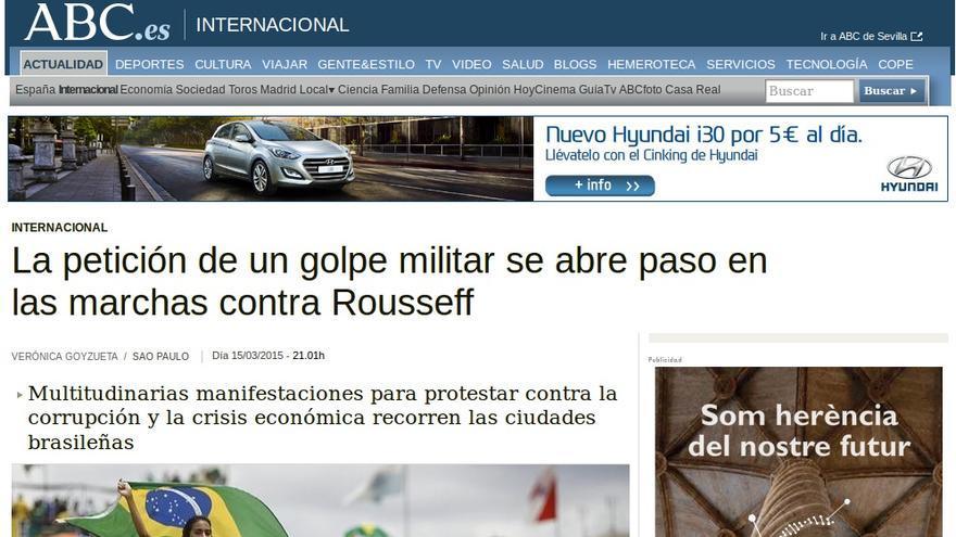 ABC Golpe contra Dilma