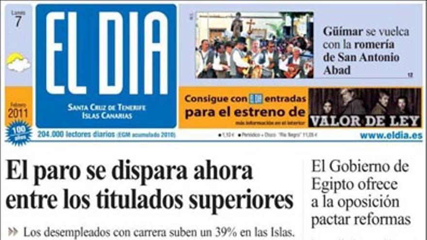 De las portadas del día (07/02/2011) #4