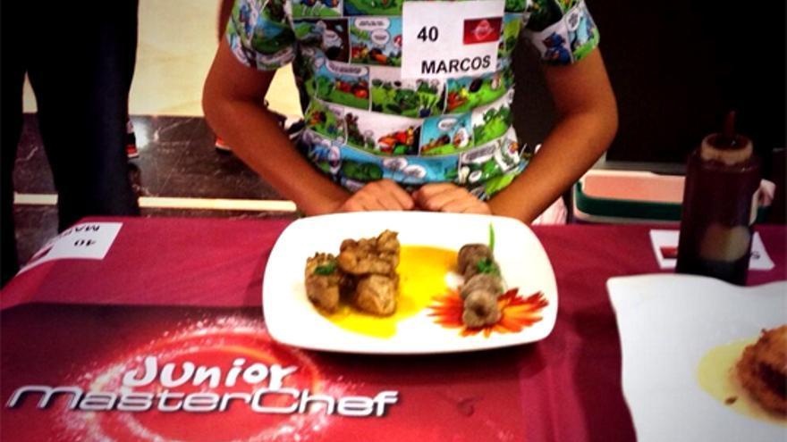 Vertele se mete hasta la cocina de 'Masterchef Junior': ¿será este 'peque' el próximo ganador?