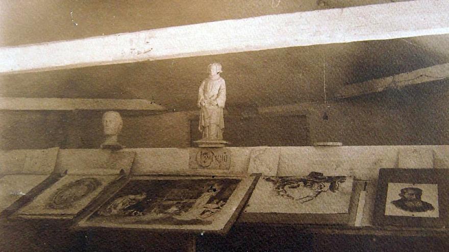 Antigua Escuela de Artes y Oficios, hoy Casa de Colón | Foto: Archivo Histórico Provincial de Tenerife
