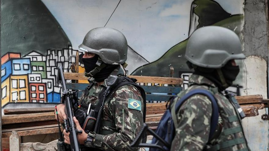 Al menos seis muertos en un enfrentamiento en una favela de Río de Janeiro