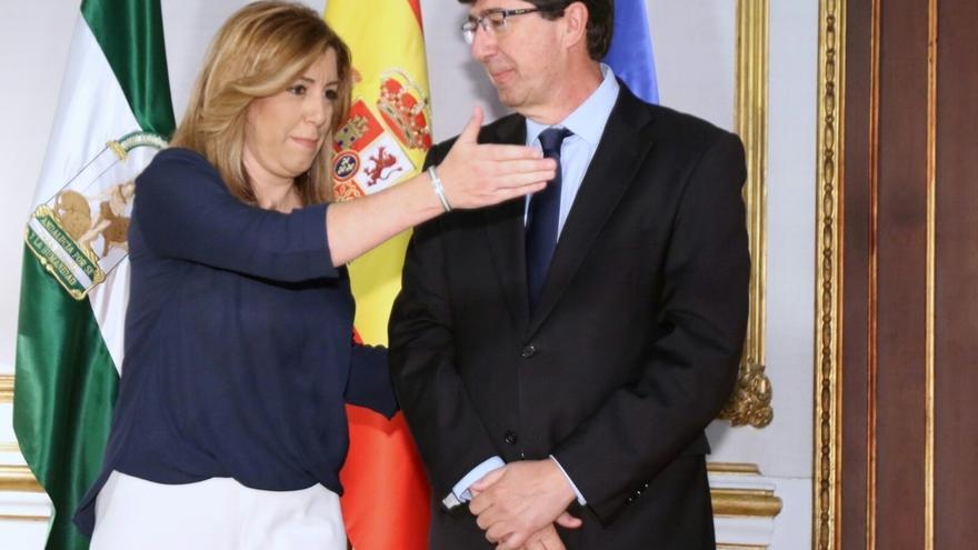 Díaz y Marín acuerdan poner fechas a los compromisos restantes y priorizar reforma electoral y aforamientos
