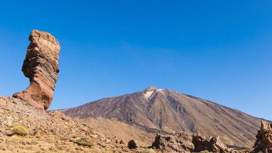 Cara sur del Teide, en Tenerife