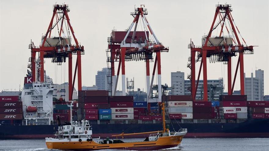 Japón logró un excedente comercial de 6.740 millones de euros en febrero