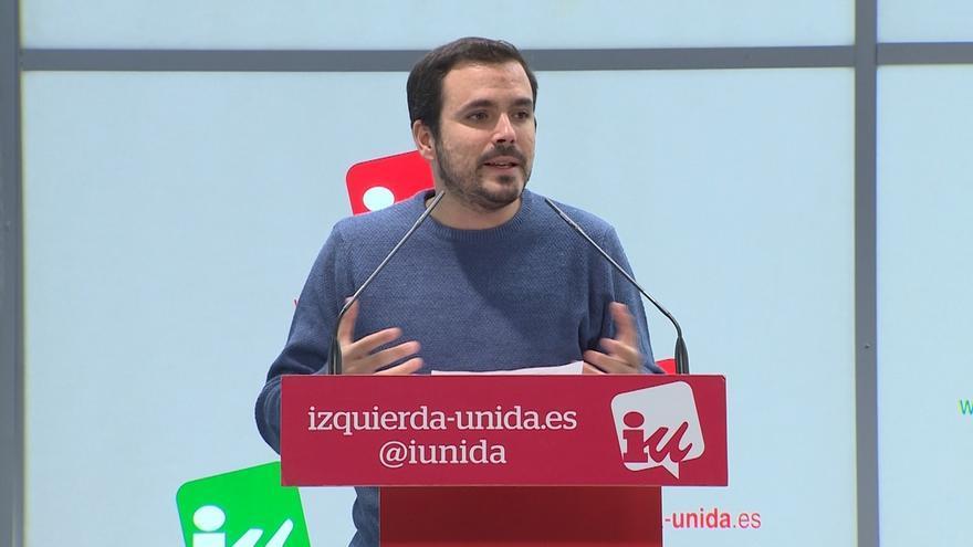"""Garzón: """"La solución es una Constitución federal en la que Cataluña está dentro pero resuelve sus conflictos"""""""