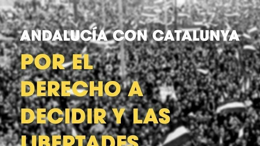 """Podemos Andalucía, IULV-CA y el PCA respaldan concentraciones este miércoles """"por las libertades democráticas"""""""