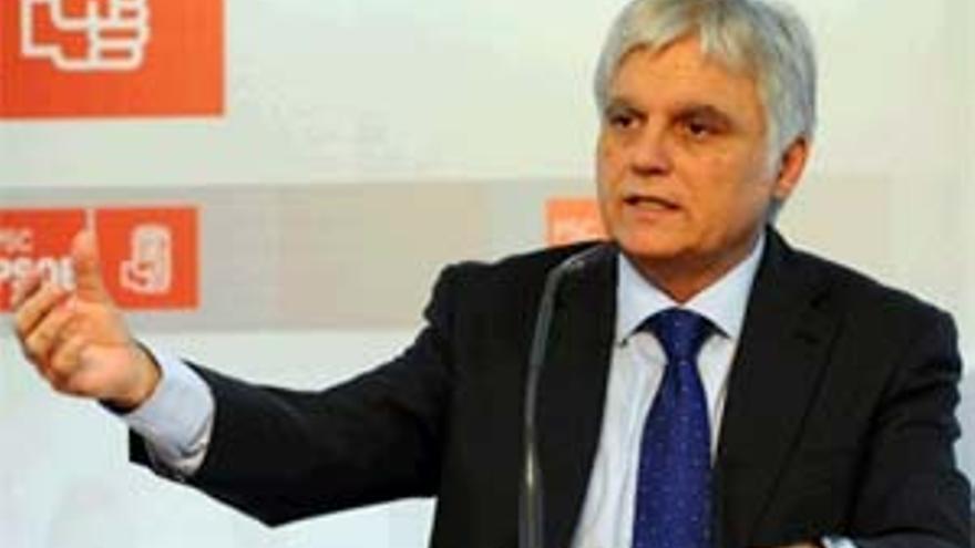 El secretario general del PSC-PSOE, José Miguel Pérez. (ACFI PRESS)