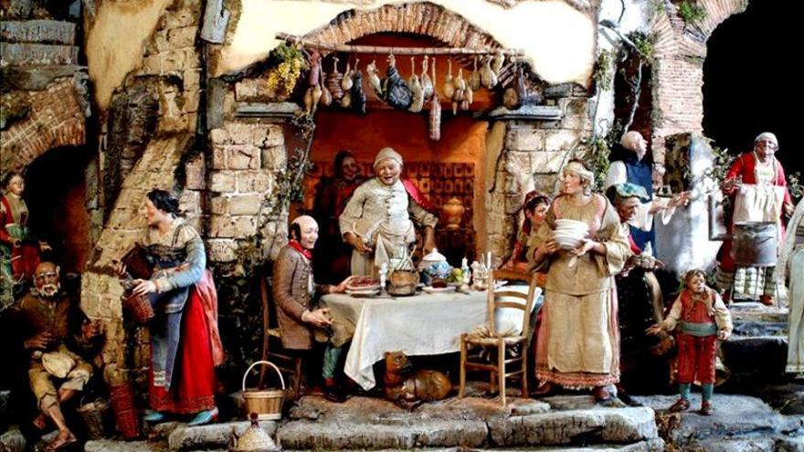 Nápoles, la ciudad donde el belén se convierte en objeto de coleccionismo