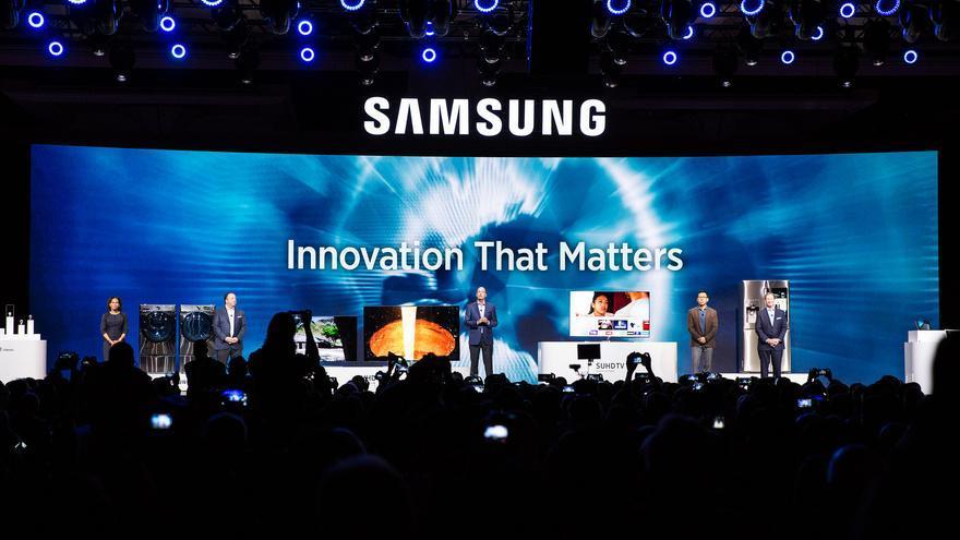 Samsung en el CES 2016. (Imagen: Samsung Newsroom   Flickr)