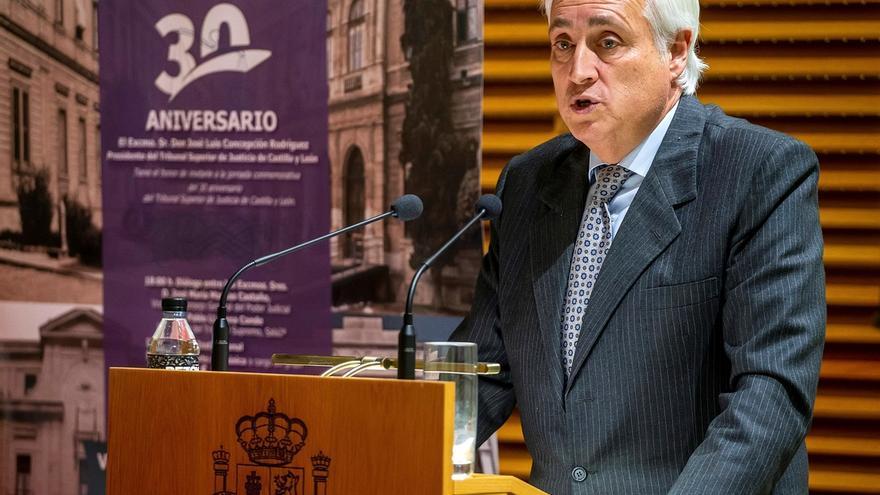 El presidente del Tribunal Superior de Justicia de Castilla y León (TSJCYL), José Luis Concepción.