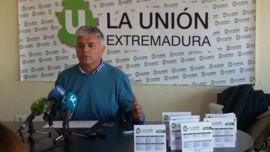 Luis Cortés, La Unión Extremadura