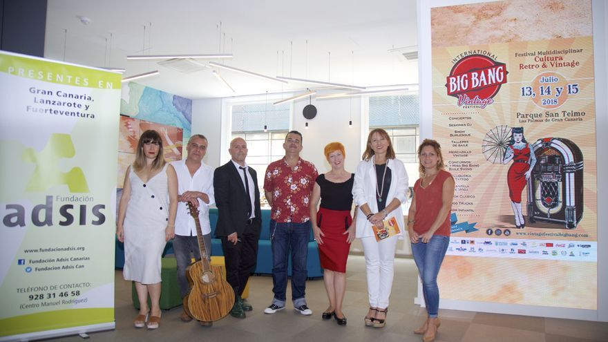 Presentación del International Big Bang Gran Canaria Festival.