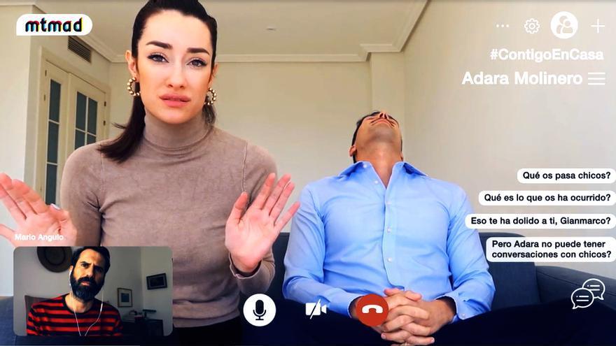Adara y Gianmarco escenifican su ruptura en MTMAD