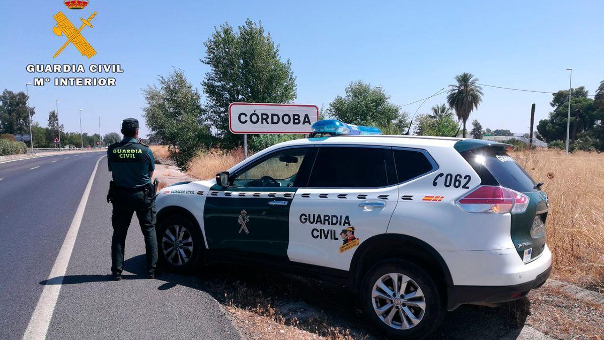 Guardia Civil en Córdoba.