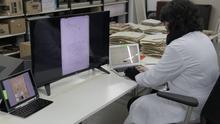 La Comunidad digitaliza más de un millón de documentos históricos pertenecientes a siete siglos de historia de la Región