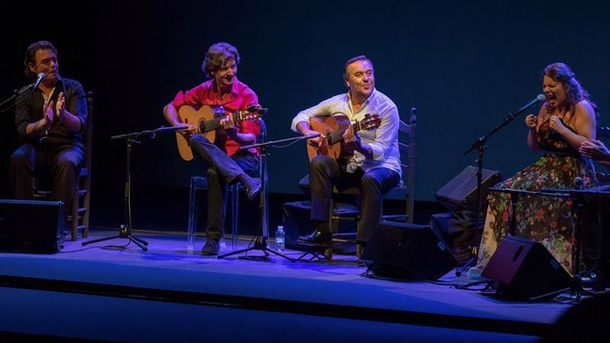 Niño de Pura y Manolo Franco, dos guitarras míticas unidas por La Bienal