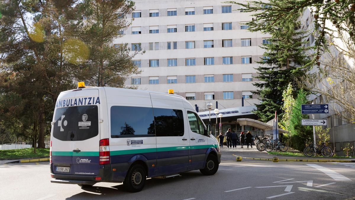 Imagen del hospital de Txagorritxu de Vitoria.