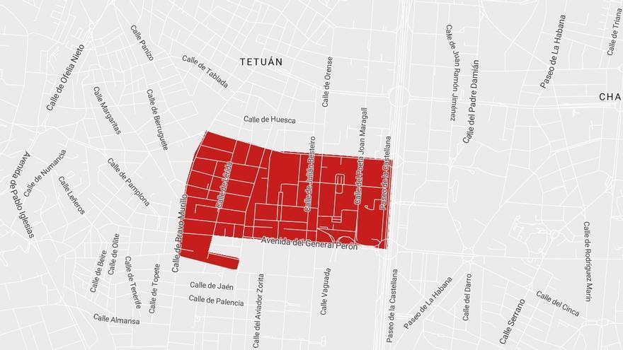 Sanidad desconfina Infanta Mercedes y deja Tetuán sin restricciones a la movilidad
