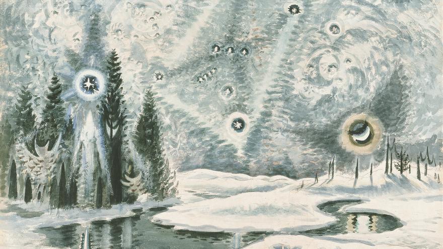 'Orión en invierno' (1962), de Charles Ephraim Burchfield