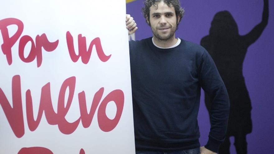 Jacobo Medianero, responsable de Comunicación de IU Castilla-La Mancha