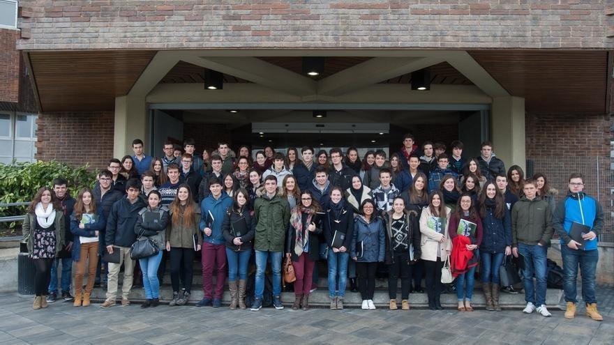 Alumnos del IES Benjamín de Tudela, Liceo de Monjardín e Irabia, representantes de Navarra en la Olimpiada de Biología